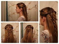Game of Thrones Hair: Sansa Stark Inspired Tyrell Twists.