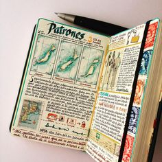 José Naranja: Watercolor maps - looks like he has lots of amazing content on hi. Travel Sketchbook, Art Sketchbook, Journal Notebook, Journal Pages, Sketch Journal, Watercolor Map, Journal Aesthetic, Scrapbook Journal, Bullet Journal Inspiration