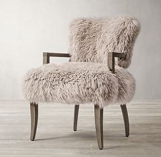 The Yeti Sheepskin Collection Furniture Vanity, Dining Furniture, Scandinavian Chairs, Mountain Decor, Modern Bungalow, Medicine Cabinet Mirror, Home Hardware, Living Room Inspiration, Dining Room Chairs