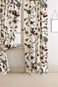Anthropologie Mantadia Curtains / Shop My House! - The Inspired Room