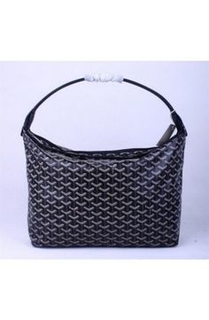 Goyard Fidji Hobo Bag Black