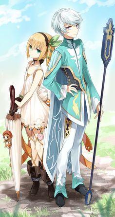 Tales of Zestiria - Edna and Mikleo