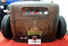 Just a Car Guy: The Gas Monkey Garage Rat Rod... nice tailpanel