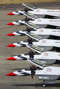 US Air Force Thunder Birds