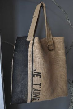 Custom Printed Burlap Belt Beach Tote Bag by oceanrockdesign, $28.00