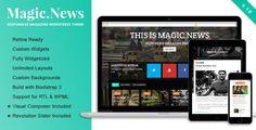 MagicNews - Responsive WordPress Magazine Theme  #wordpress
