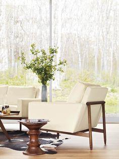 Raleigh Armchair  #dwr #livingroom #dwrLivingRoomSale