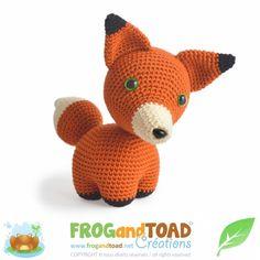 Fargo The Fox Amigurumi Pattern