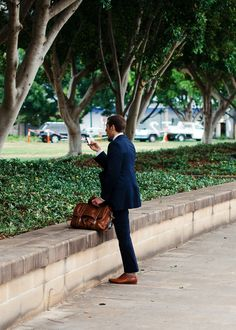 Suited: Blues and Browns