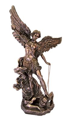 "Saint Michael Huge Church Statue 73"" tall Veronese Collection"