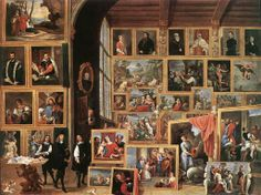 David Teniers the Younger - The Gallery of Archduke Leopold in Brussels, 1640
