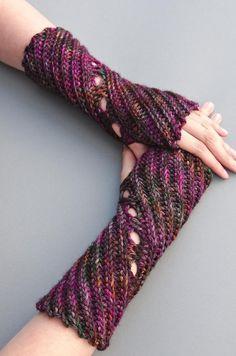 We love crochet winter accessories: Twister by Tanja OSswald, on LoveCrochet