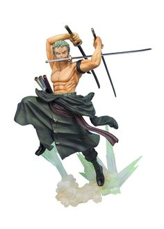 21.83$  Watch here - http://alidyd.shopchina.info/go.php?t=32779923351 - Hot-selling 1pcs 20cm pvc Japanese anime figure one piece Roronoa Zoro action figure collectible model toys brinquedos 21.83$ #SHOPPING