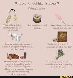 """V How to feel like Aurora V bed ol"""" curls. Dance through life as gracefully as possible, speaking wnrds Prioritize spending Lime in or amund nature. Angel Aesthetic, Classy Aesthetic, Belle Aesthetic, Mauve Lips, Etiquette And Manners, Princess Aesthetic, Thing 1, Tips Belleza, Feel Like"""