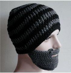 Crochet Beard Hat, Knitted Beard, Knitted Hats, Baby Beard Hat, Beard Beanie, Crochet Winter Hats, Crochet Hats, Beard Accessories, Leprechaun Hats