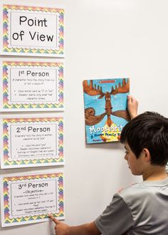 Are you looking for point of view posters for your students to be able to reference in the classroom? Then this is the product for you! You'll get five posters available in NINE different designs to match your classroom decor! You can also shrink them down to use as notes in their student notebooks. Click through for more details! $