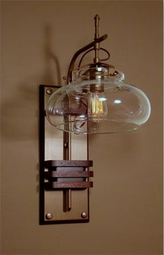 Steampunk Oxford Station Wall Lamp from Donovan Design