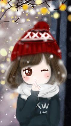 小薇冬日你好