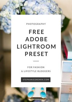 Download this FREE Lightroom Preset designed for fashion and lifestyle bloggers.