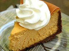 Pumpkin Cheesecake (Weight Watchers) Recipe  http://www.justapinch.com/recipes/dessert/other-dessert/pumpkin-cheesecake-weight-watchers.html
