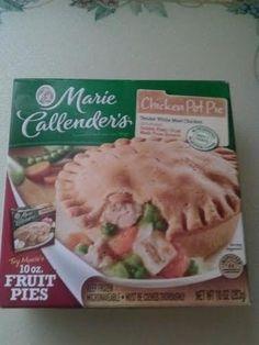 Fast dinner for Len will be a Marie Callenders Pot Pie - News - Bubblews