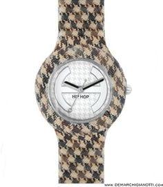 Hip Hop orologi Pied de Poule modello hwu0371 www.demarchigianotti.com