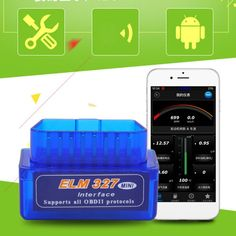 [Visit to Buy] New OBD V2.1 mini ELM327 OBD2 Bluetooth Auto Scanner OBDII 2 Car ELM 327 Tester Diagnostic Tool for Android Windows Symbian #Advertisement