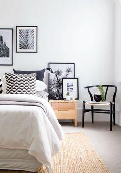 8 Generous Hacks: Minimalist Home Office Color Palettes minimalist interior loft living rooms.Minimalist Home Office Rugs minimalist bedroom big interior design.Minimalist Bedroom Tips Closet. Bedroom Minimalist, Minimal Bedroom, Minimalist Home Interior, Modern Bedroom, Minimalist Decor, Master Bedroom, Cozy Bedroom, Bedroom Black, Bedroom Chair