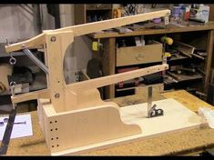 Assemble A Drill Powered Scroll Saw, Part 2 - Saw Arm Assembly - YouTube