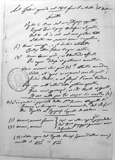 """I """"Sonetti"""" di Ugo Foscolo furono composti tra il 1798 e il 1803. L'edizione definitiva è quella pubblicata a Milano presso l'editore Nobile nel 1803. Vi compaiono, insieme con le due """"Odi"""", 12 componimenti."""