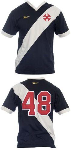 Réplica da camisa clássica do Campeonato Sul-Americano de 1948 Vasco da Gama.