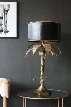 Palm Tree Table Lamp - Table Lamps - Lighting