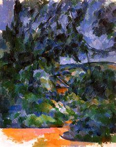 Paul Cézanne - Paysage bleu (1904-1906)