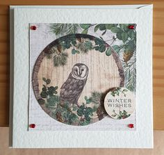 Winter Woodland by Craftwork Cards. Created by Jane Compton