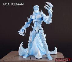 Age of Apocalypse Iceman custom figure by Jin-Saotome on DeviantArt