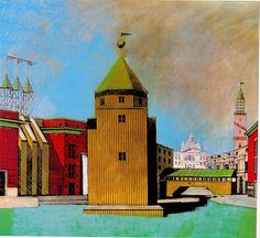 Aldo Rossi sketch - one of my favorites