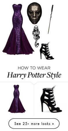 """Death Eater Ball"" by potterhead-3280 on Polyvore featuring mark."