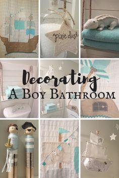 Decorating a Boy Bathroom - My Creative Happy