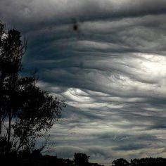 Serra Negra -SP- Brazil (Undulatus Asperatus clouds)