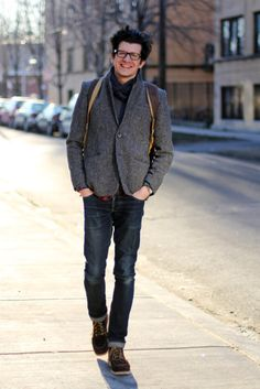 A.P.C. Harris Tweed Sport Coat ($280)Found by The Midwestyle