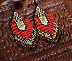 Perles Boucles doreilles bijoux artisanaux style par BEhAnDson
