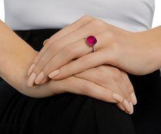 LOVE. Dot Ring from #Swarovski