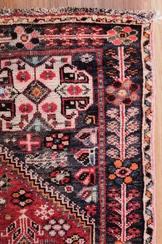 Antique Persian Rug | MicroscopeTelescope on Etsy