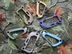 Gear-A-Biner by Jess Proctor, via Kickstarter.  A new quick change way to carry your Keys and your Every Day Gear, as well as a useful Multi-Tool