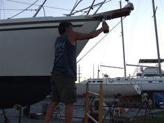 Mid-Life Cruising!!!: Boat Renaming Ceremony