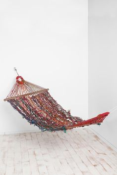 Ive always wanted a room with a hammock. Everyone always made fun of me for the idea...