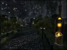 Blackmoor (Lokii Violet) ( f ) Explore, Street, Walkway, Exploring