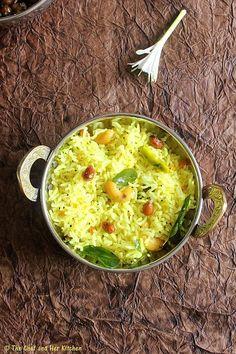THE CHEF and HER KITCHEN: Lemon Rice | Chitranna | Nimmakaya Pulihora