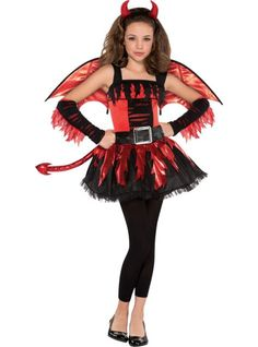 Girls Daredevil Costume - Party City This is what I'm being for Halloween