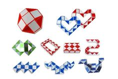 Rubik's Snake (or Rubik's Twist): Better than the cube. The best was creating shapes with two or three put together.